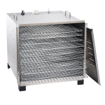 IMPROVED Stainless Steel Dehydrator with 12 Hour Timer
