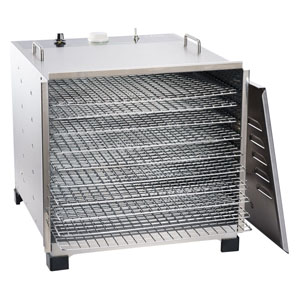 Big Bite Stainless Steel Dehydrator with 12 Hour Timer
