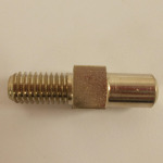 Part - Square Auger Stud for # 8 Leonardi Grinder # 535 (Pre 04)