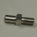 Part - Square Auger Stud for # 12 Leonardi Grinder # 536 (Pre 04)