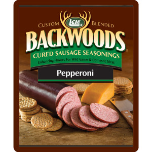 Backwoods Pepperoni Cured Sausage Seasoning - Backwoods Pepperoni Seasoning Makes 5 lbs.