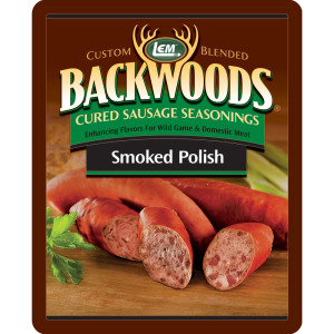 Backwoods Smoked Polish Cured Sausage Seasoning - Backwoods Smoked Polish Seasoning Makes 25 lbs.