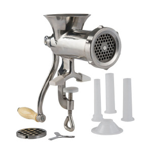 Refurbished # 10 Stainless Steel Hand Grinder
