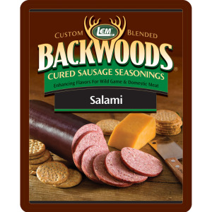 Backwoods Salami Cured Sausage Seasoning - Backwoods Salami Seasoning Makes 25 lbs.