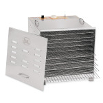 Stainless Steel 10 Tray Dehydrator  - Stainless Steel 10 Tray Dehydrator With Chrome Plated Trays