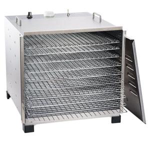Stainless Steel 10 Tray Dehydrator