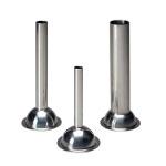 Stainless Steel Bell Stuffing Tubes For Grinders - # 8 Grinder Stainless Steel Bell Stuffing Tube- 33mm (1-1/4