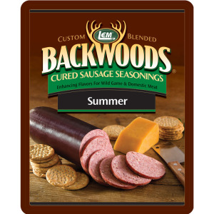 Backwoods Summer Sausage Cured Sausage Seasoning - Backwoods Summer Sausage Seasoning Bucket Makes 100 lbs. - BEST VALUE!