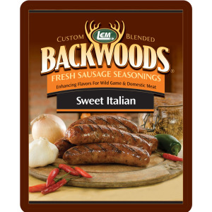 Backwoods Sweet Italian Fresh Sausage Seasoning - Backwoods Sweet Italian Seasoning Makes 5 lbs.