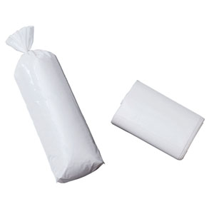White Meat Bags - 2Lb Plain White Bags- 25 Count