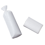 White Meat Bags - 1Lb Plain White Bags - 25 Count