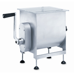 Motorized or Manual Meat Mixer - 25 lb. Capacity