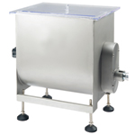 Motorized or Manual Meat Mixer - 50 lb. Capacity