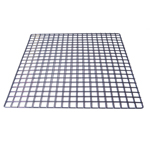 """10 Pack Stainless Steel Shelves with 3/4"""" Holes"""