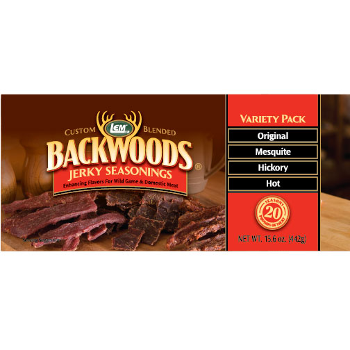 Backwoods Jerky Seasoning Variety Pack # 1