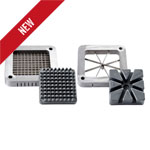 Commercial French Fry Cutter Accessory Blades & Plates - Wedge and Shoestring