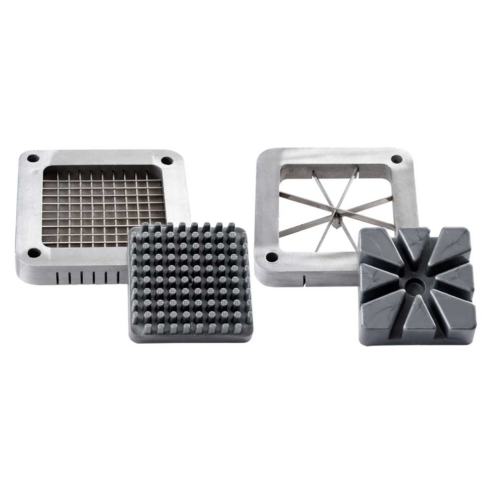 Commercial-Quality French Fry Cutter Blades & Plates - Wedge and Shoestring