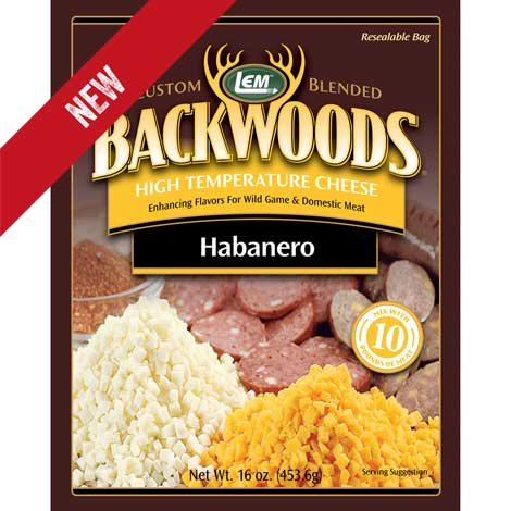 Backwoods High-Temp Habanero Cheese - 1 lb.