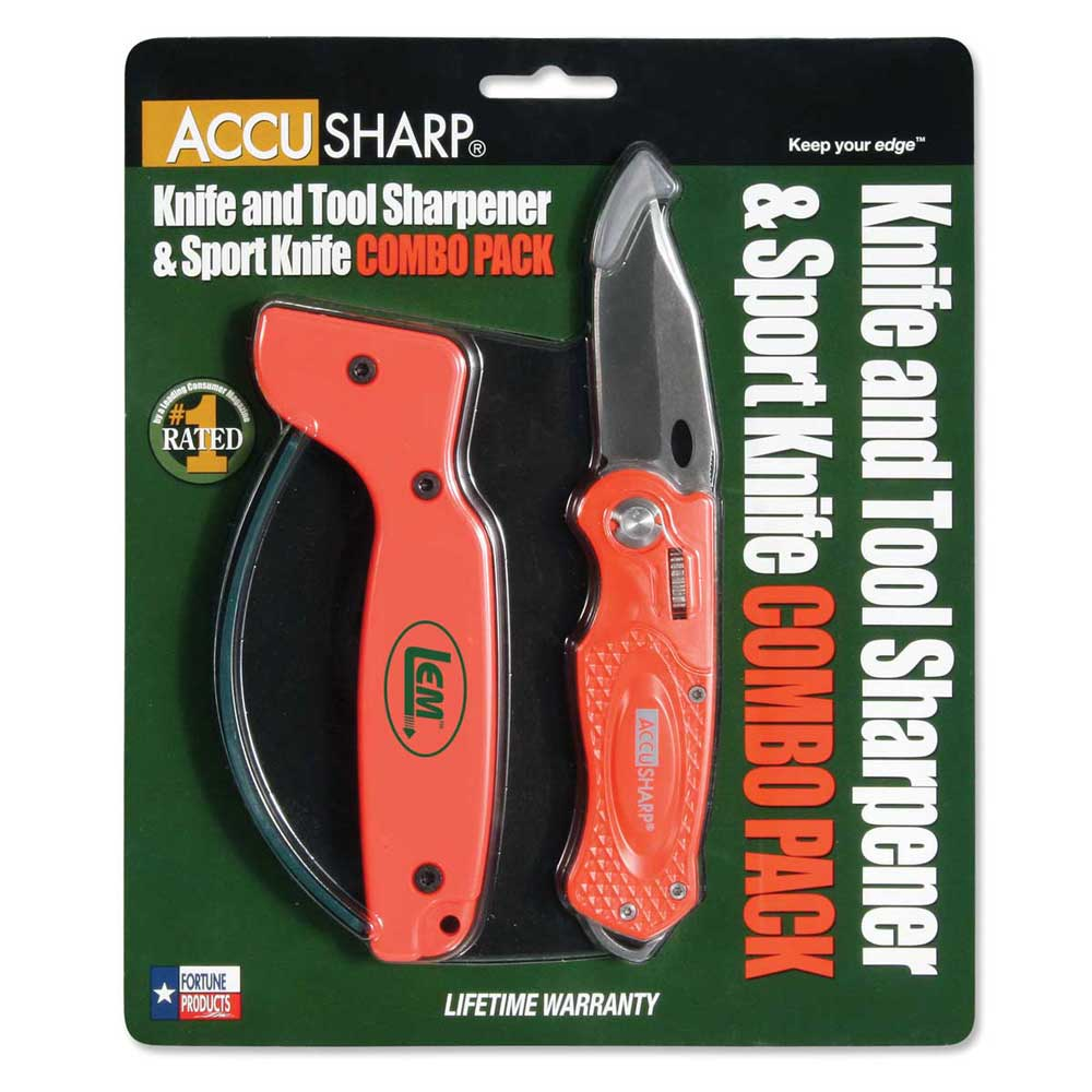 Knife and Sharpener Combo