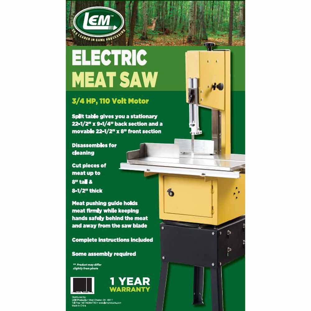 Electric Meat Saw Packaging