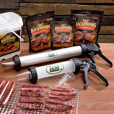 Jerky Cannon, Gun & Accessories